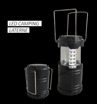 Power Line 30 LED Campinglaterne ausziehbar