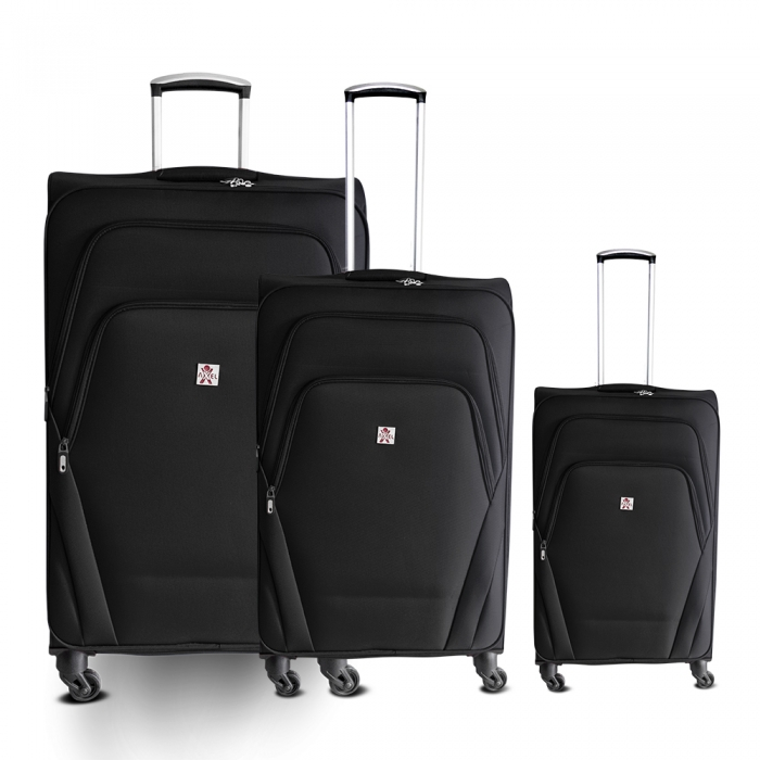 Axel 3tlg. Deluxe Reisekoffer Suitcase Set, Leicht Edition