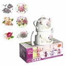 King 4tlg Teekanne Set Caydanlik Tea Pot