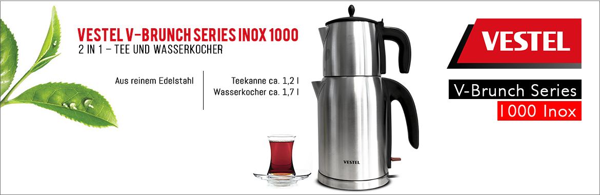 Vestel V-Brunch Series Inox 1000
