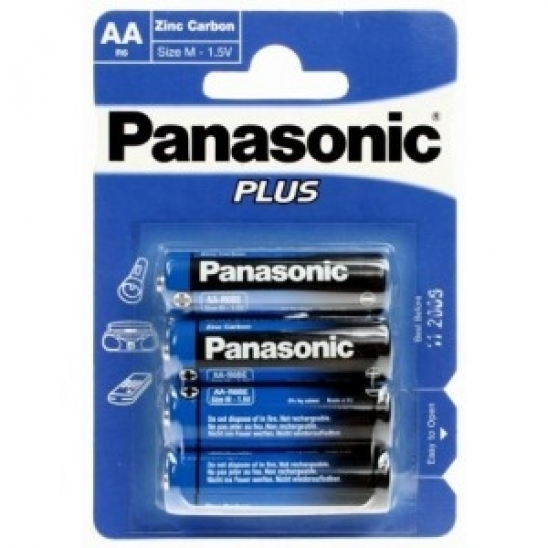 Panasonic Plus R6 4er Blister Batterie