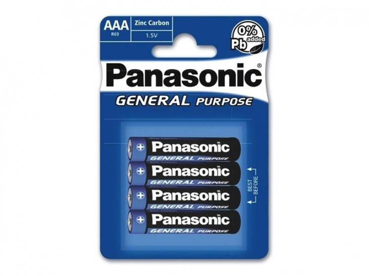 Panasonic Plus R03 4er Blister Batterie