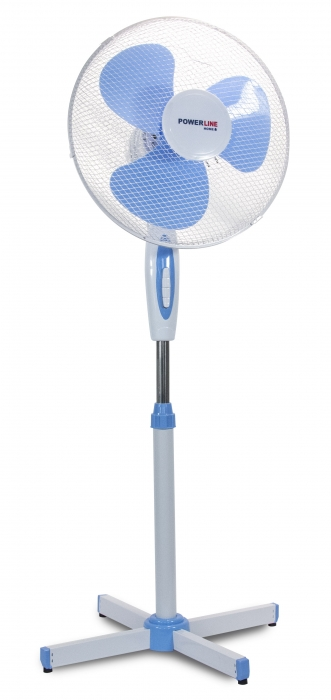 PowerLine Standventilator SkyBlue 40cm